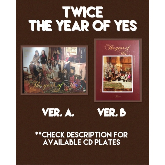 TWICE The Year of Yes (Unsealed Albums)
