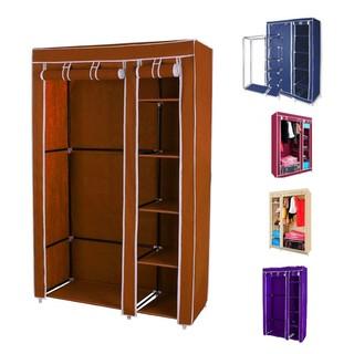 Keimav Portable Storage Organizer Clothes Rack With ...