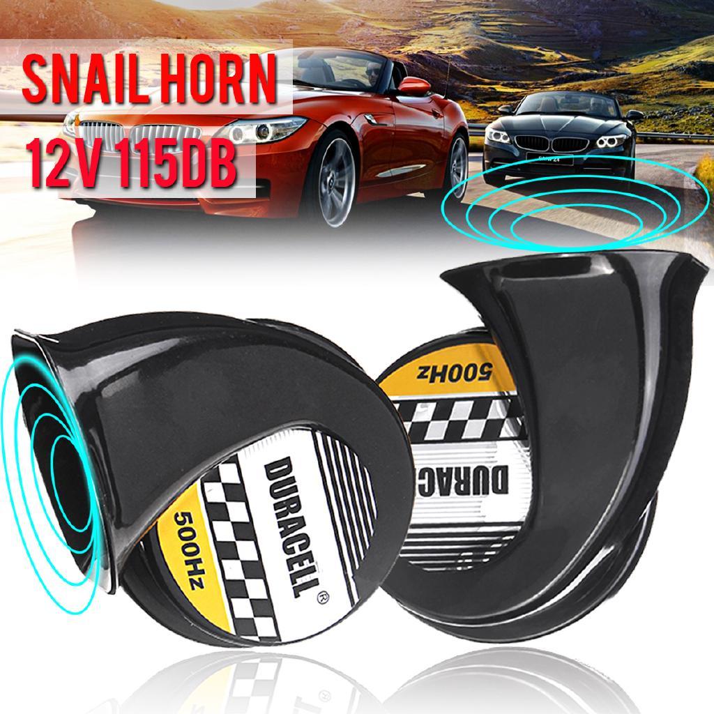 Loud Car Horn >> Waterproof 115db Twin Loud Snail Horns High Low Tone Car