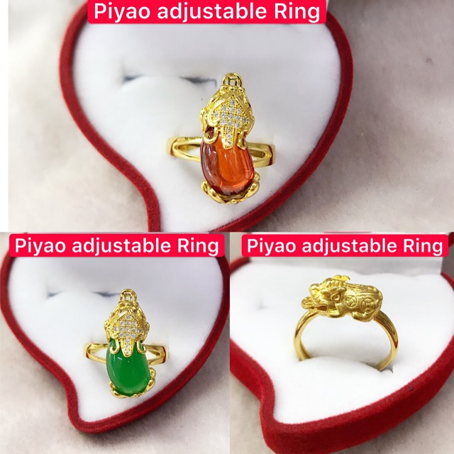 14k saudi gold Commercial piyao adjustable Ring