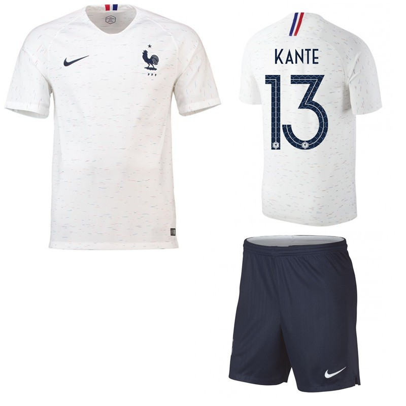 the latest e8037 3fb2b World Cup France KANTE kit soccer Jersey Football shirts