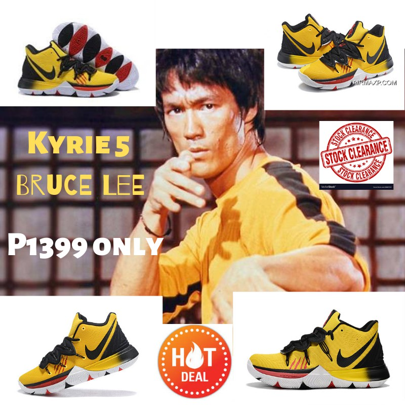 separation shoes 95268 266df Kyrie 5 Bruce Lee Edition
