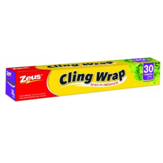 Plastic Wrap With Cutter In Box Food Wrapper Cellophane Balot Ulam Cling Wrap
