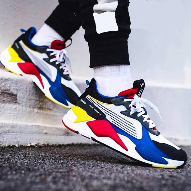 21 colors PUMA RS-X Series TRACKS Trophy Reinvention low-cut mesh breathable clunky sneakers