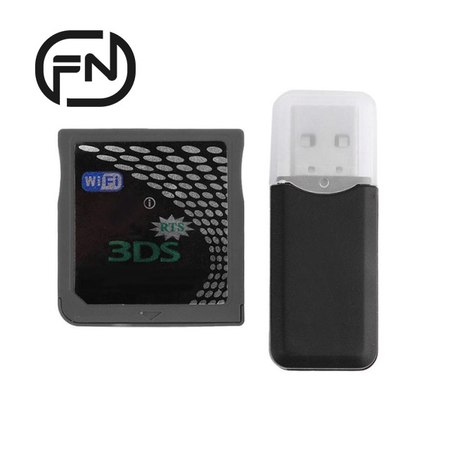 WiFi R4I-SDHC 3DS RTS Adapter Card Flash Kit for NDS NDSL NDSI 3DS 3DSLL