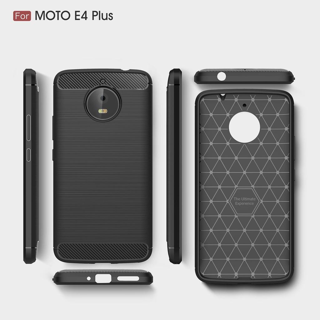 new arrival e40bc 4b04b Motorola Moto E4 Plus Z2 Play Force X4 Carbon Fiber Soft Shockproof Silicon  Case Cover