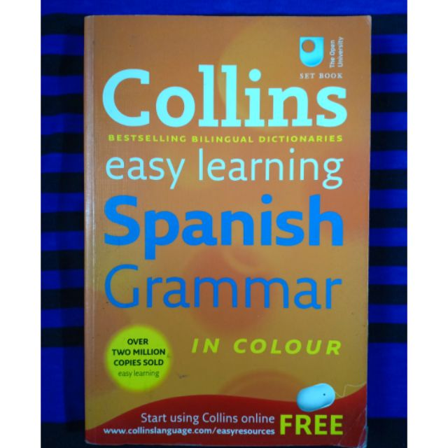 Collins Easy LearningSpanish Grammar