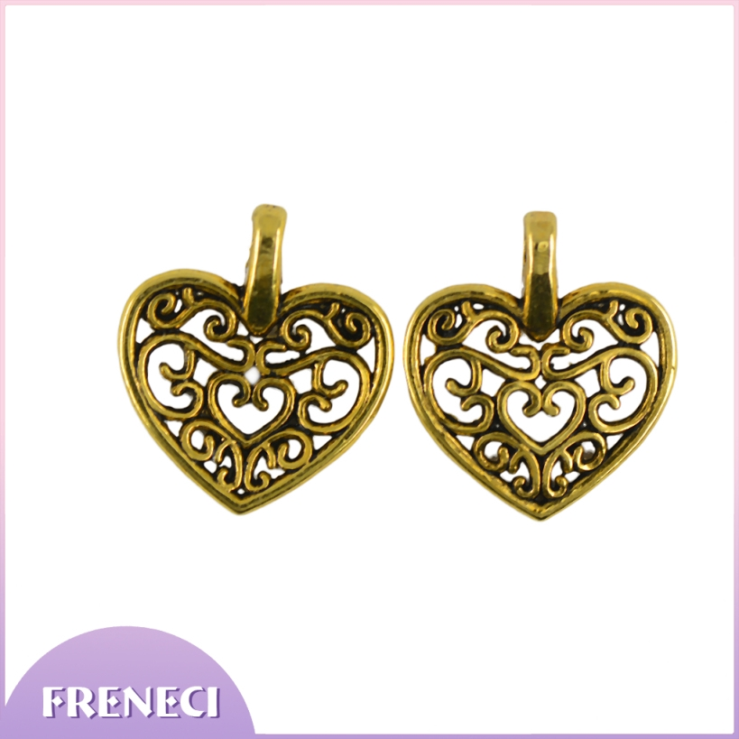 60 Jewelry Making Charms Human Skeleton Body Pendant DIY Doll Necklace Craft