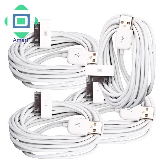 10ft 3m EXTRA LONG CHARGE DATA SYNC 30-pin TO USB CABLE FOR APPLE iPAD 3rd 2 1st
