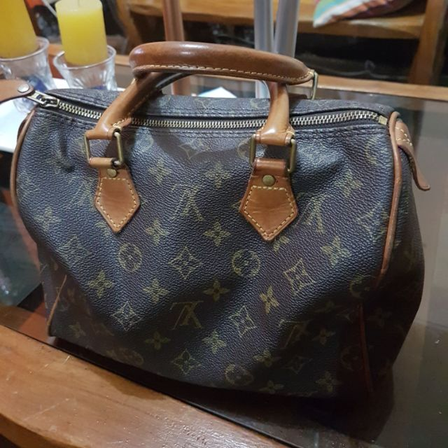 Preloved Lv Speedy Bag Shopee Philippines