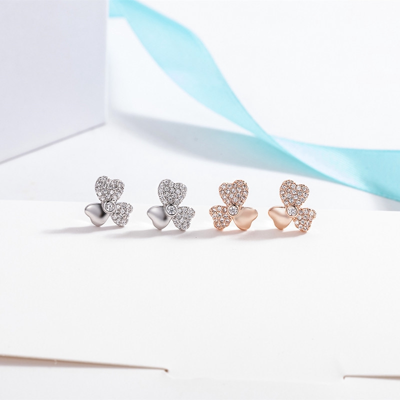 18K Gold plated Lovely Golden Daisy Flower With Imitation Pearls Tree branch Charm Stud Earring