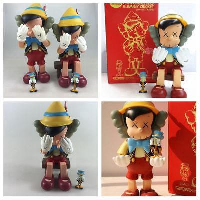 KAWS Pinocchio Companion Jiminy Cricket New Medicom