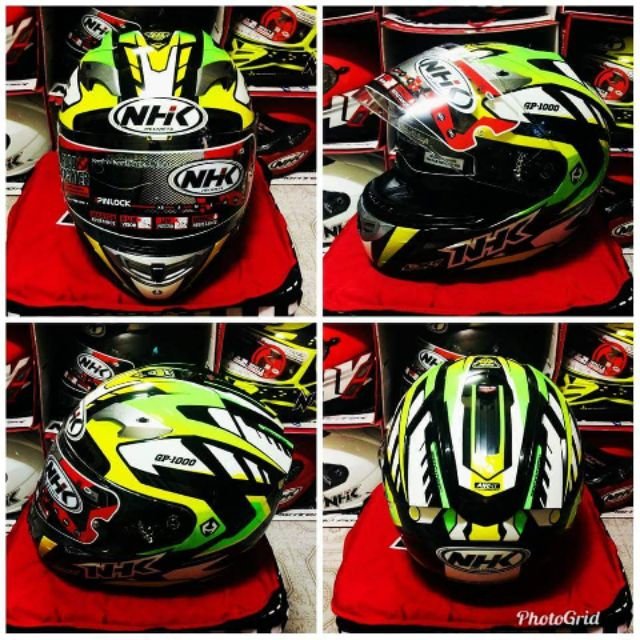 33d9ed77 NHK gp1000 model racing helmet   Shopee Philippines