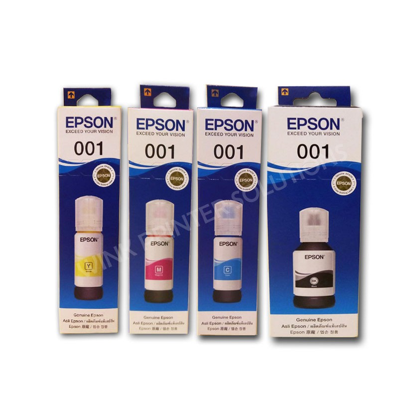 Epson Genuine Inks for CODE T03Y (001) 1SET