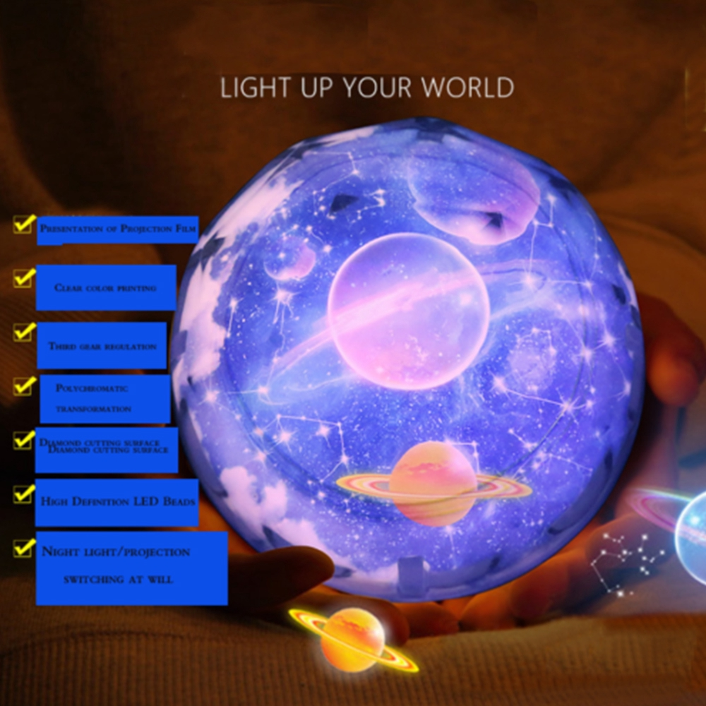 Led Rotation Star Projector Light Baby