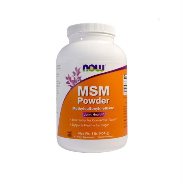 Now Foods, MSM Powder, 1 lb (454 g)