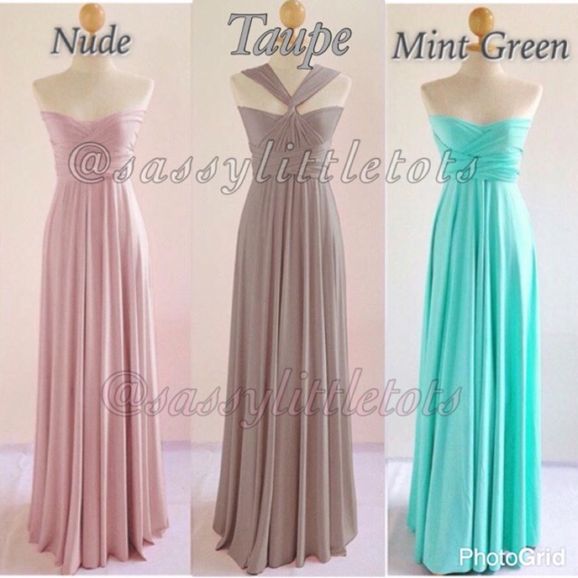 Infinity Dress | Shopee Philippines