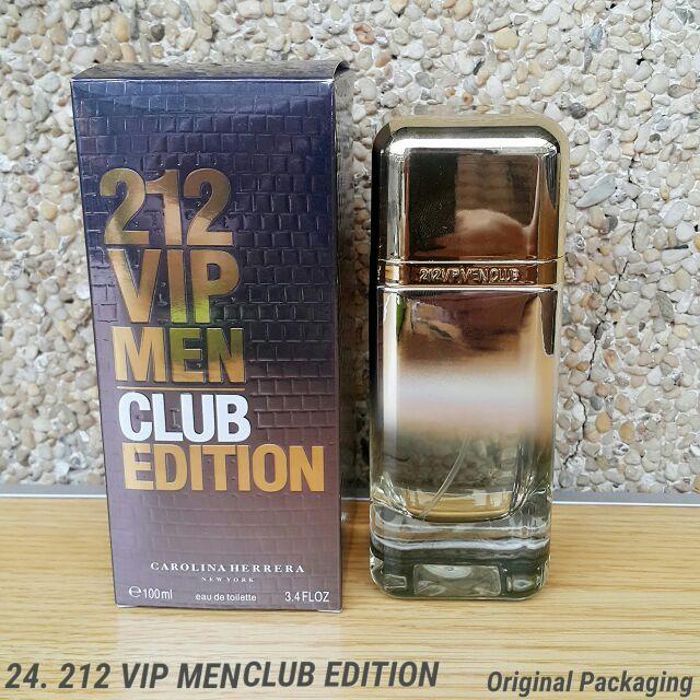 Carolina Herrera 212 Vip Club Edition Edt Women Shopee Philippines