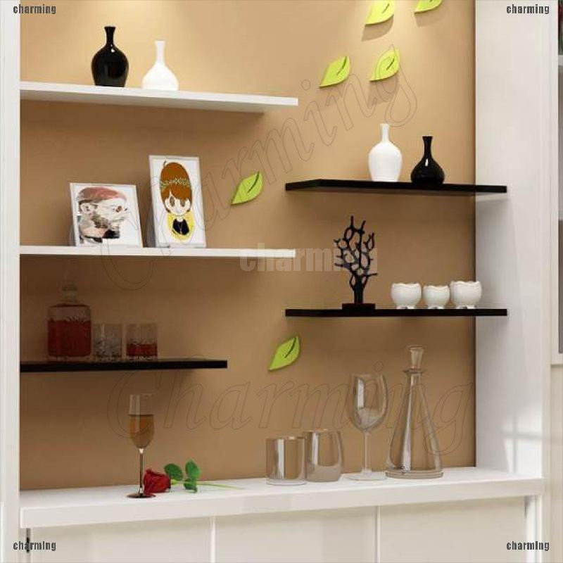 1 Pc Ready Stock Wall Mounted Line Shape Floating Wall Shelves Rack Bookshelf Wall Display Storage Rack Shopee Philippines