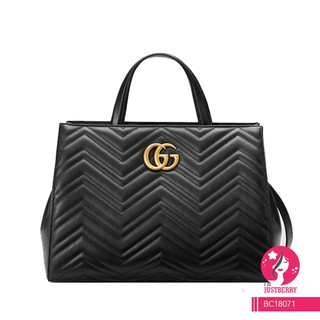 04e195d8046 Premium Gucci GG Marmont Matelasse Top Handle Bag