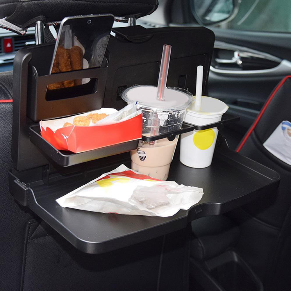 Universal Black Car food tray folding dining drink table | Shopee ...