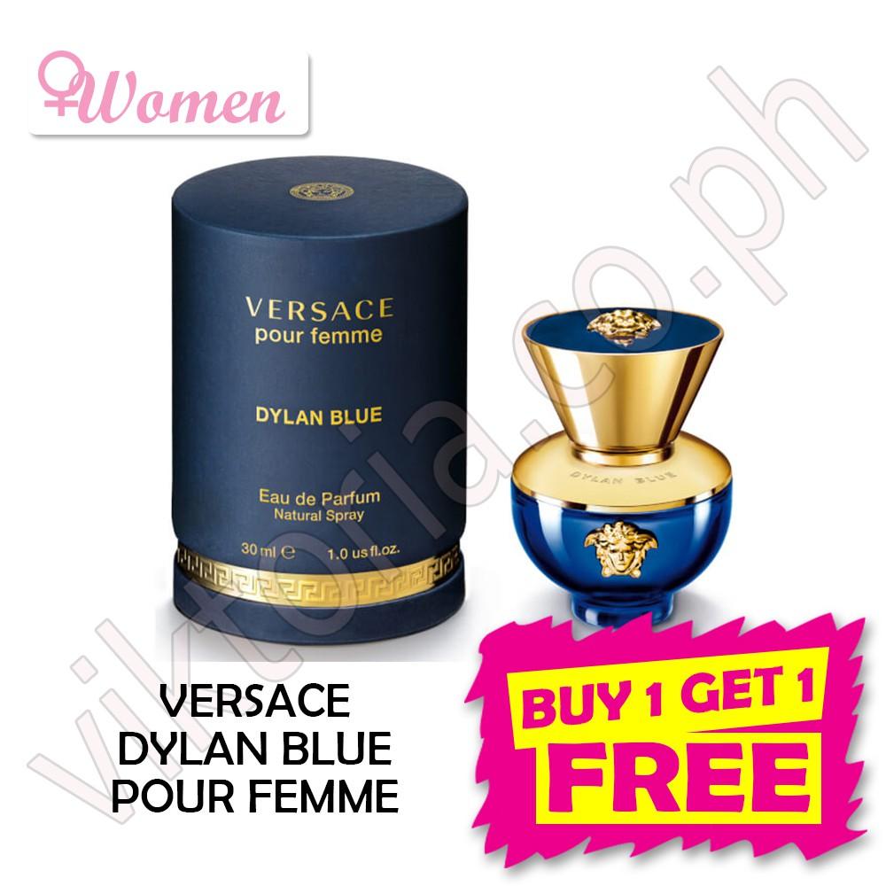 Us Femme Blue Pour Tester Versace Dylan 100mlauthentic 5FKTulJ1c3