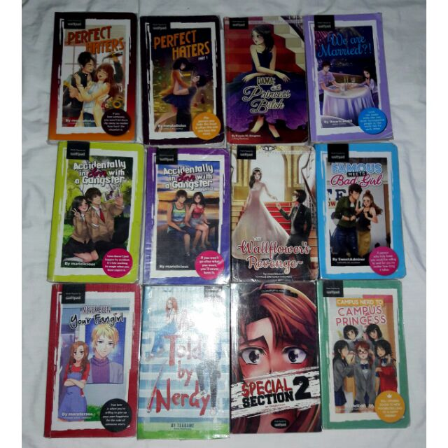 WATTPAD POP FICTION BOOKS FOR SALE!