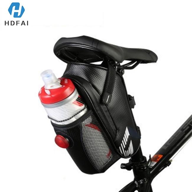 B-SOUL Bicycle Reflective Saddle Rear Tool Bags MTB Bike Seatpost Seat Tail Bags