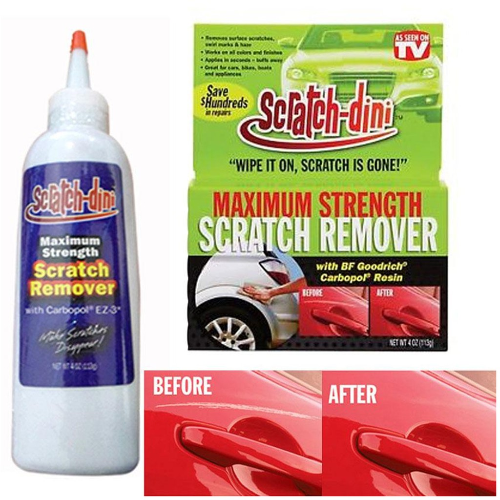 As Seen on TV Scratch-Dini Car Scratch Remover 4 oz (113g)