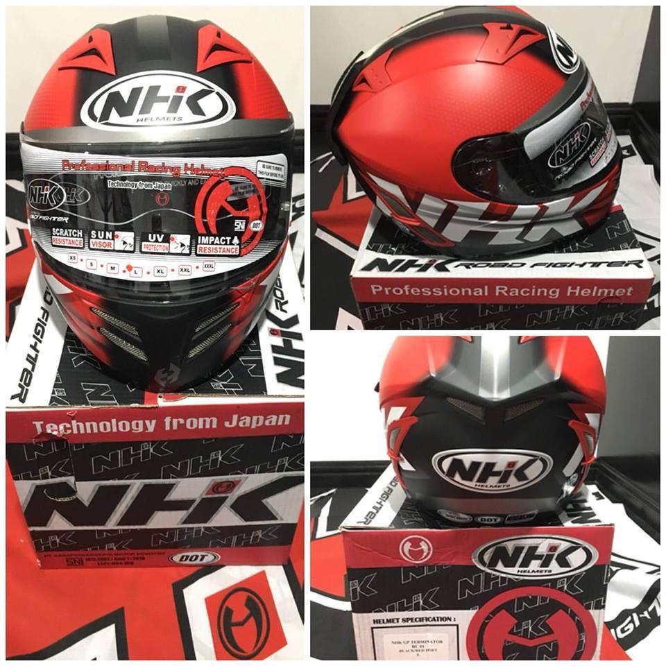 803f7704 NHK Helmet Terminator   Shopee Philippines