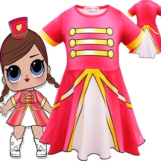 7f10311e3f9a Girls Kids Clothes Lol Surprise Doll Party Fancy Dress Cosplay Costome  Dresses