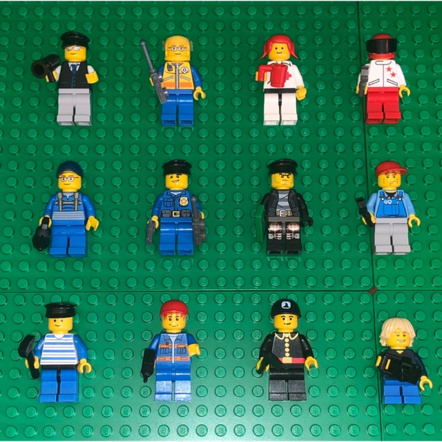 10 Lego MINIFIG MEN Minifigure WITH WEAPON  random grab bag 100/% AUTHENTIC