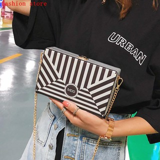 fbfb081621 Shopee Women s Bags Shoulder Bags Others Bag female 2018 new wave  personality hit color striped box package summer ins super fire chain obli.  like  0