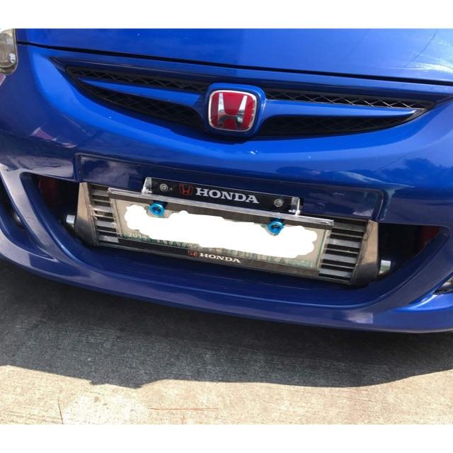 Package Honda Design Plate Covers + JDM Tilting Plate Holder