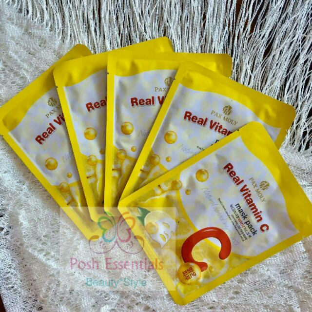 Pax Moly Real Vitamin C Mask Pack