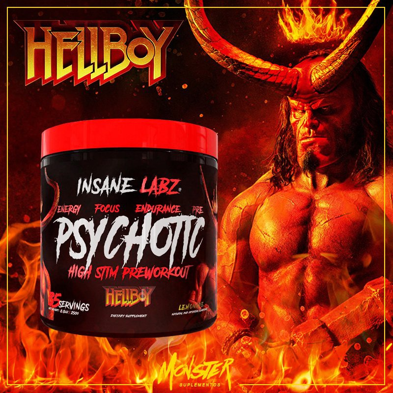 Insane Labz Psychotic HELLBOY Edition (35 servings) | Shopee Philippines