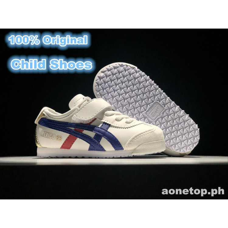 sports shoes bfdd4 d6c26 Zhuass*Kids ASICS Onitsuka Tiger Mexico 66 white Shoe