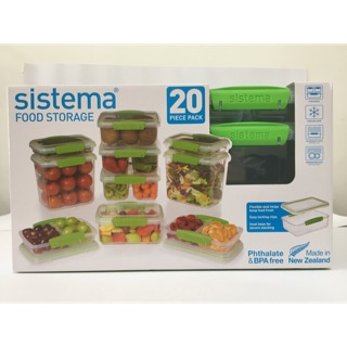 LTB: LOT2 SISTEMA TO GO YOGURT MINI FOOD STORAGE CONTAINER