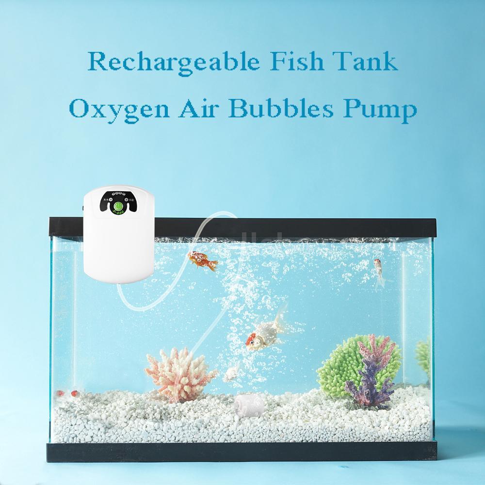 21f3d863ef5 Ultra Air Pump Silent Aquarium Rechargeable Fish Tank Oxygen ...