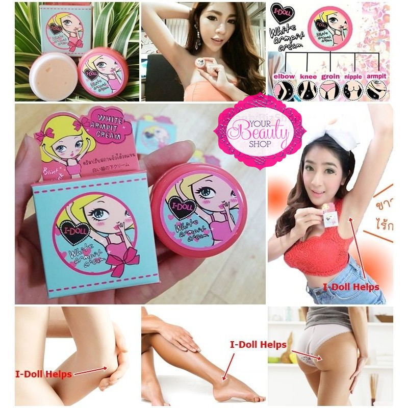 I Doll White Armpit Cream Shopee Philippines