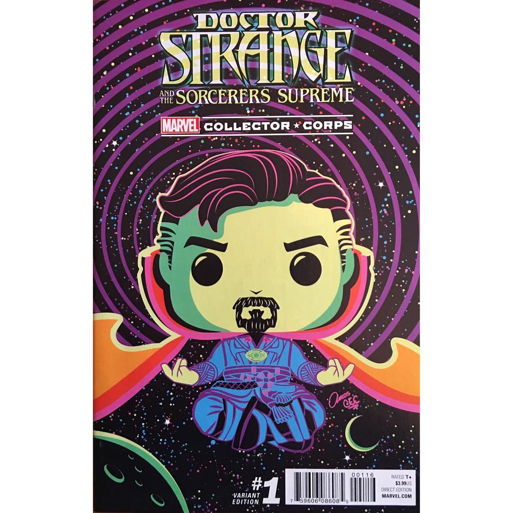 Marvel Doctor Strange Collector Corps Box Funko Brand New