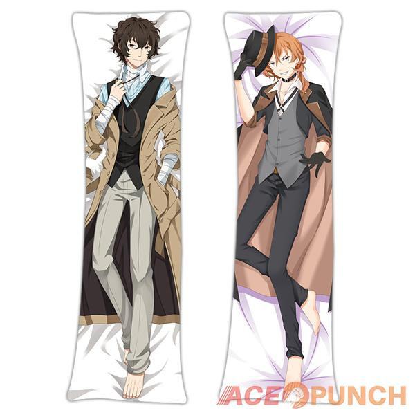 Anime Dakimakura Pillow Case Cover 150x50cm.Bungou Stray Dogs.Nakahara Chuya