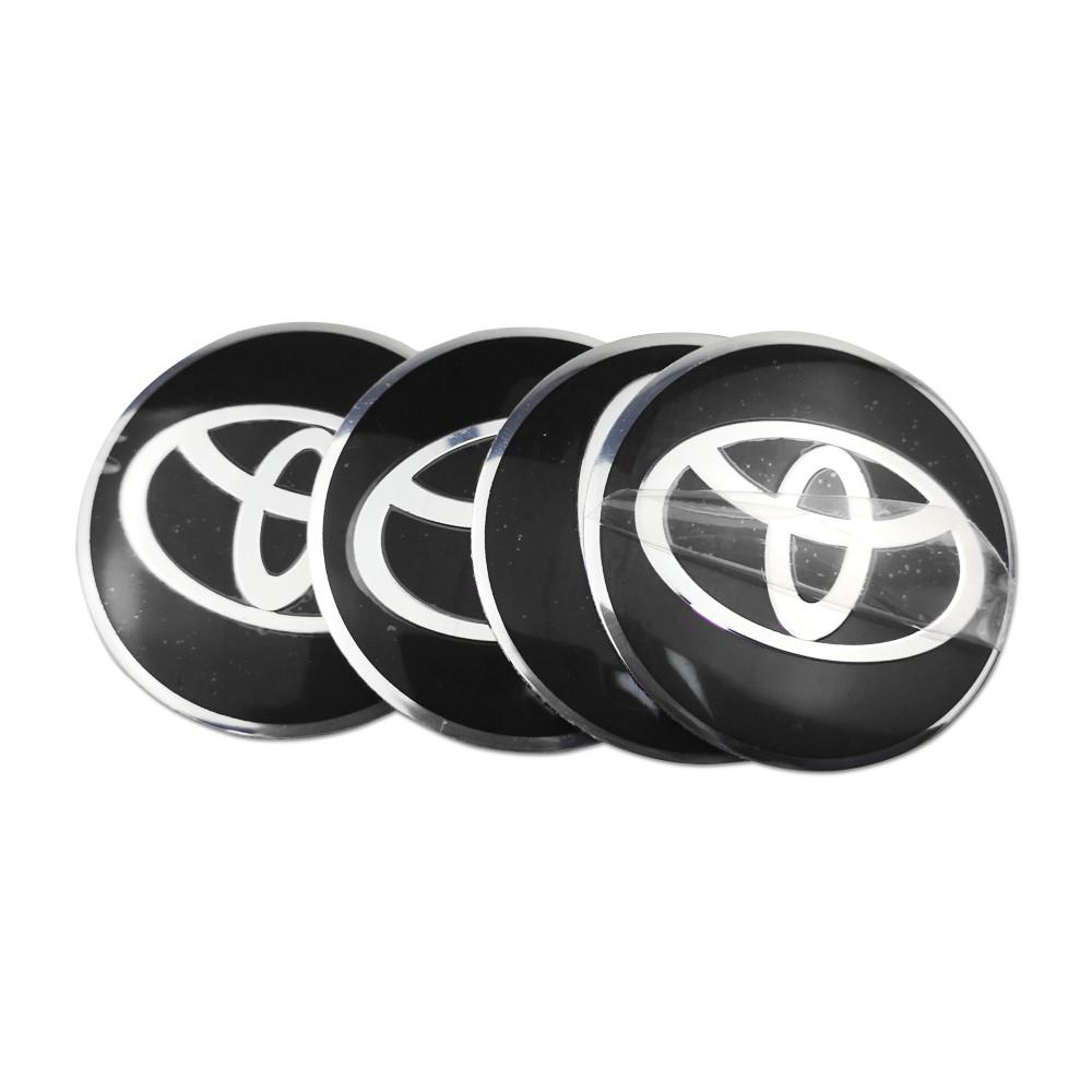 Wheel Centre Hub Caps Cover 4pcs 56mm Car Tires Wheel Center Hub Caps Stickers TRD Badge Compatible with Toyota Crown Corolla REIZ TRD Racing Logo Tire car Accessories Emblem Badge Color : Red