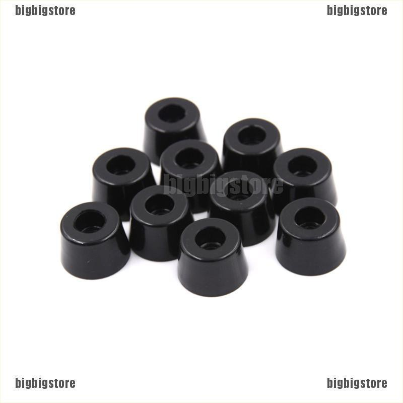 100Pcs Black Self Adhesive Rubber Feet Semicircle Bumpers Door Buffer Pad GNYT
