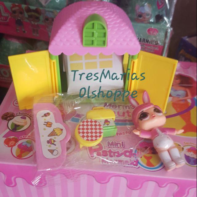 1:12Dollhouse Miniature Toy Baby Milk Bottle Bib Showers Gels 5pcs Home Decor LK