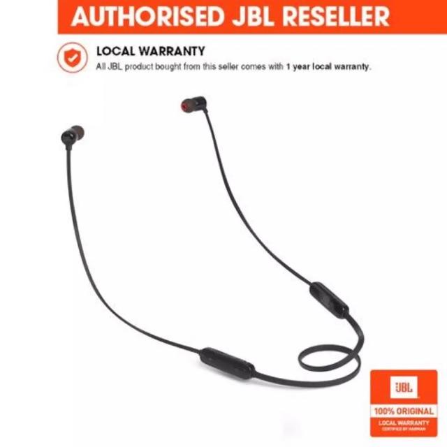 JBL T110BT Wireless In-ear Headset (Black)