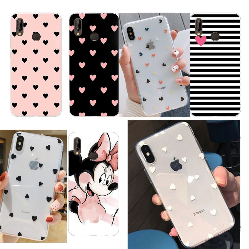 TPU Huawei P20 Lite Case Huawei P20 Pro Y6P Y9 Prime 2019 Silicone Soft Cover Huawei P20Lite P20Pro Phone Cases