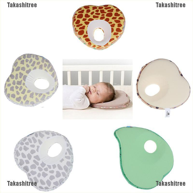 Infant Baby Newborn Pillow Memory Foam Positioner Prevent Flat Head Anti Roll K