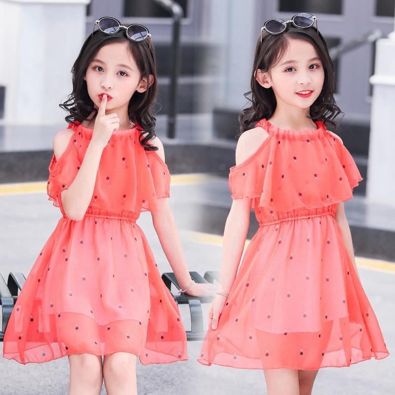 3 15 Years Big Girl S Dress Summer Kids Dress Fashion Short Sleeve Dresses For Teenager Shopee Philippines
