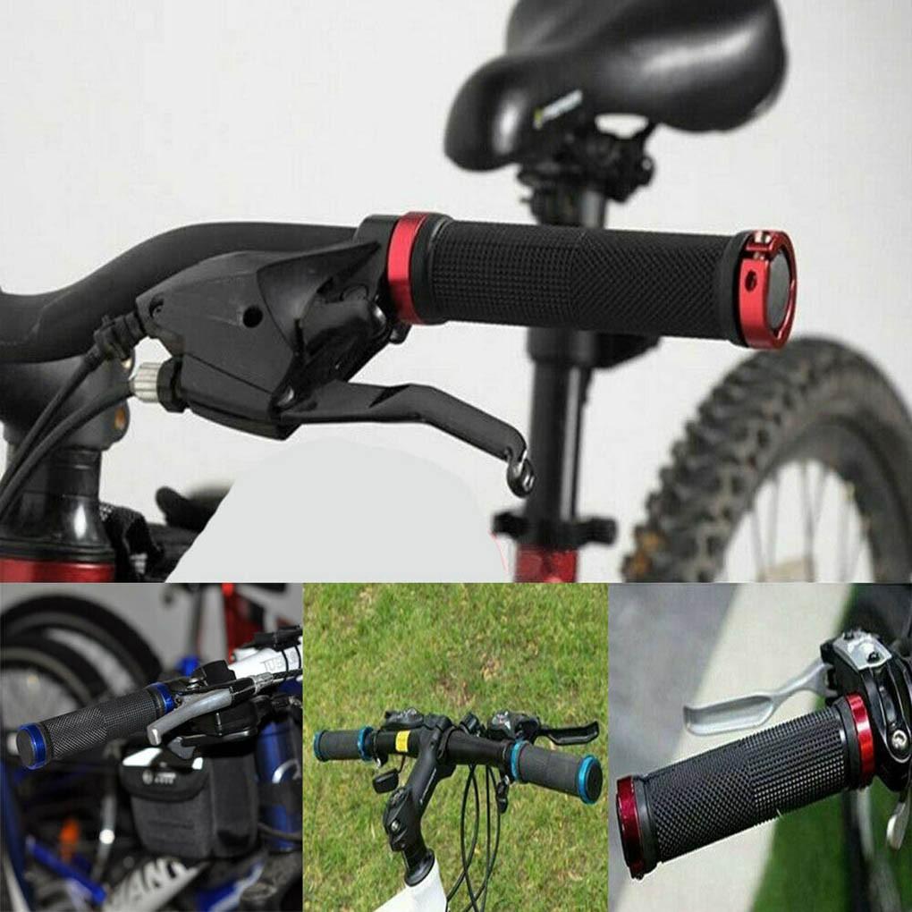 1 Pair Handlebar Mountain Bicycle Cycling Bikes Carbon Fiber Handle Bar End Grip